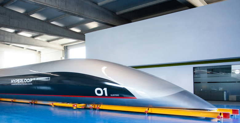 Article hyperlooptt capsule unveil