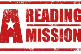 Home page reading mission logo